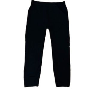 Sofra cropped black leggings stretch